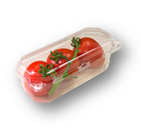PAK-3 Pack Smooth Wall Tomato Clamshell